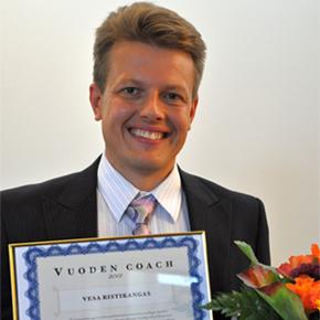 Vesa Ristikangas on Vuoden Coach 2012