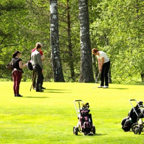 Golf ja coaching - Synergiaa viheriöllä