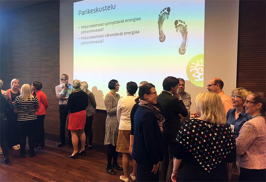 LähiTapiola & Johtoryhmä innostuksen rakentajana -seminaari 20.6.2016